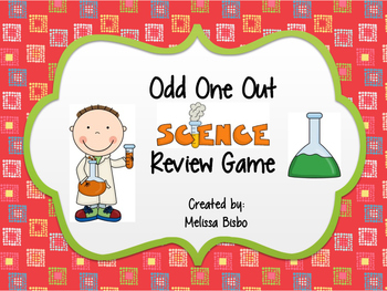 Odd One Out Science Review Game
