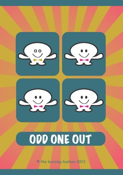 Odd One Out with The Learning Toolbox