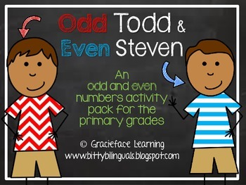 Odd Todd and Even Steven - A Math Center
