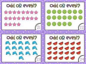 Odd and Even Activities - Worksheets, Games & Task Cards