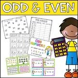 #ausbts18 Odd and Even Activities - Worksheets, Games & Task Cards