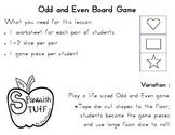 Odd and Even Board Game