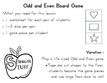 Odd and Even Board Game