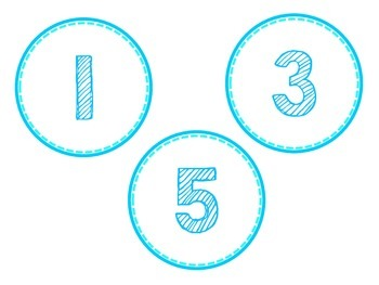 Odd and Even Bulletin Board Numbers