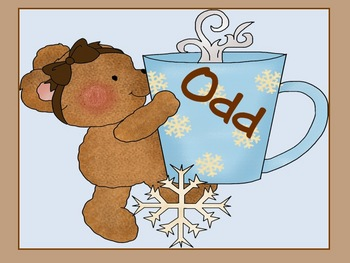 Odd and Even Cocoa Bears