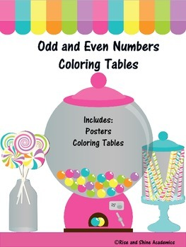 Odd and Even Coloring Tables