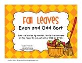 Odd and Even Fall Leaf Sort