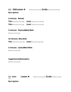 Odd and Even Lesson Plan Outline