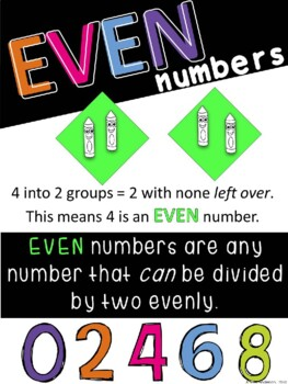 Odd and Even Number Pack