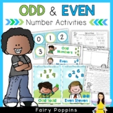 Odd & Even Numbers - Worksheets & Activities