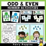 Odd & Even Numbers - Worksheets & Activities