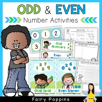 Odd and Even Number Pack - Worksheets & Printable Activities!