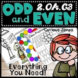 Odd and Even Numbers Hands On Activities, Game, Cut N' Sort, Color, Poems, Quiz