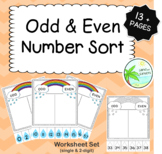 Odd and Even Number Sort (26 page SET)