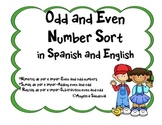 Odd and Even Number Sort in Spanish and English