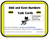 Odd and Even Number Task Cards