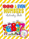 Odd and Even Numbers Activity Pack