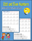 Odd and Even Numbers (Addition and Subtraction)