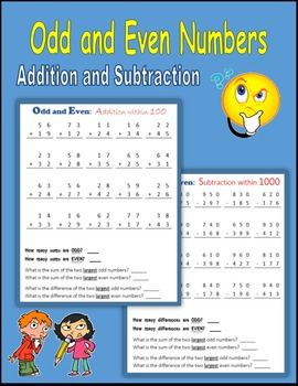 Odd And Even 1000 Worksheets & Teaching Resources   TpT