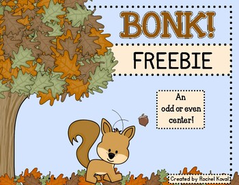 Odd and Even Numbers- BONK!