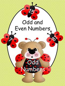 Odd and Even Numbers Center with Ladybug and Butterfly Theme
