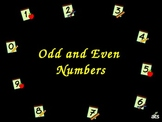 Odd and Even Numbers PowerPoint