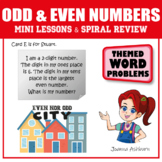 Problem Based Learning Odd and Even Numbers Teasers, Project and Quiz