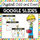 Odd and Even Numbers Google Slides-Digital Activities 2.OA.3