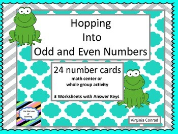 Odd and Even Numbers---with Frogs