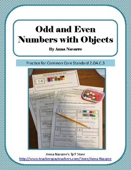 Odd and Even Numbers with Objects
