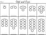Odd and Even Numerals and Counters