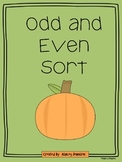 Odd and Even Pumpkins Math Stations