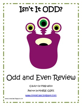 Odd and Even Review Mini-Packet