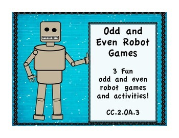 Odd and Even Robot Games