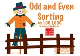 Odd and Even Sorting Game (Fall Themed)