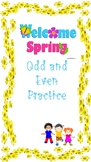 Odd and Even Spring Number Practice