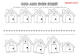 Odd and Even Street 0-9