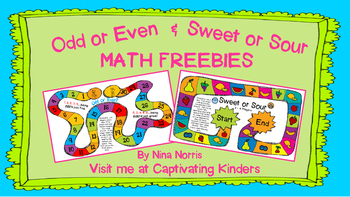 Odd and Even & Sweet and Sour Math