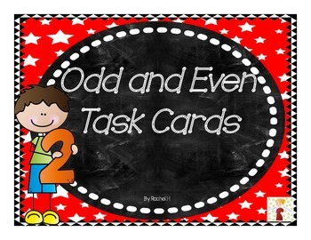 Odd and Even Task Cards