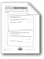 Odd and Even Word Problems (odd/even numbers)