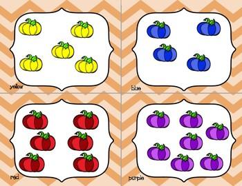 Write the Room - Odd & Even - October & November Pumpkins