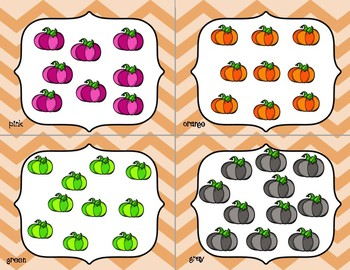 Odd & Even - Pumpkin Themed - Write the Room/Center