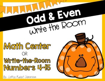 Write the Room - Odd & Even - October & November Pumpkins