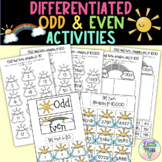 Odd and Even number worksheets and activities