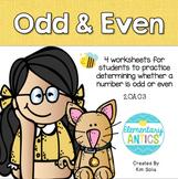 Odd and Even 2.OA.C.3
