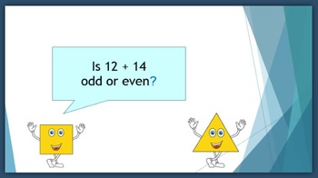 Odd or Even:  2nd grade