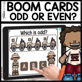 Odd or Even BOOM CARDS
