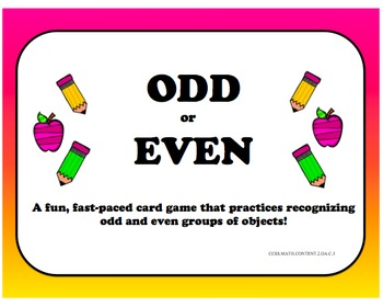 Odd or Even - Card Game