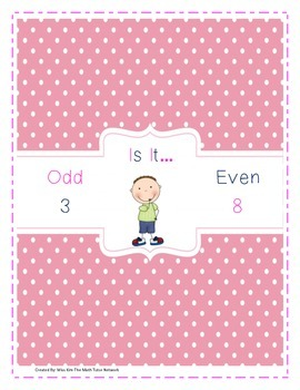 Odd or Even-Cut/Paste, Quiz,and Matching Game