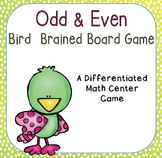 Odd or Even Differentiated Center Game: Bird Brained Math